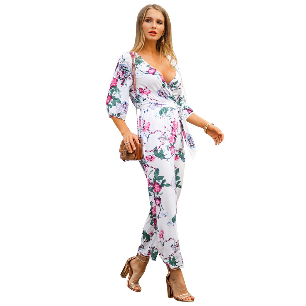 Kandiny - 2019 new explosions printed jumpsuit