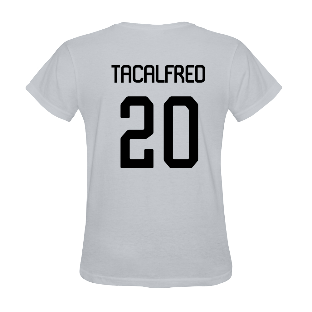 Mens Mickael Tacalfred #20 White Jersey T-shirt